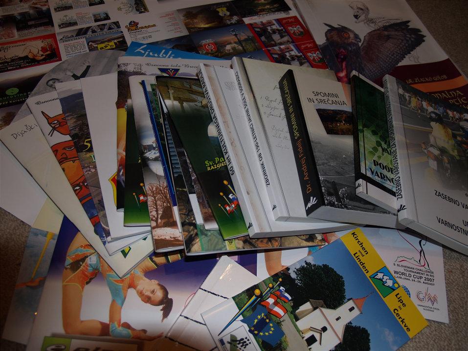 knjige in brošure